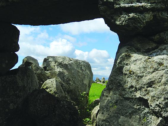Steinkreis bei Tedschisi